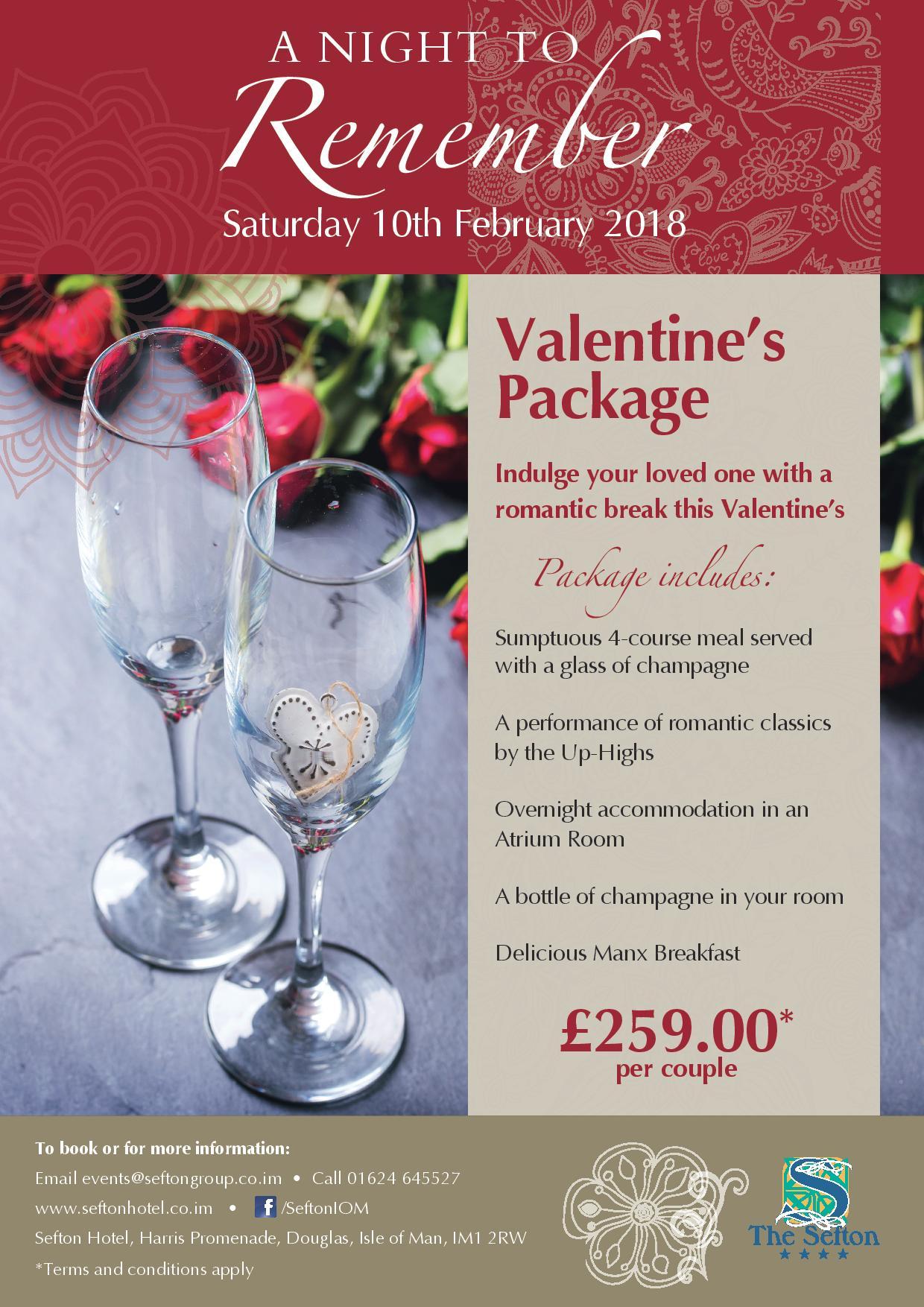 Valentine's at The Sefton