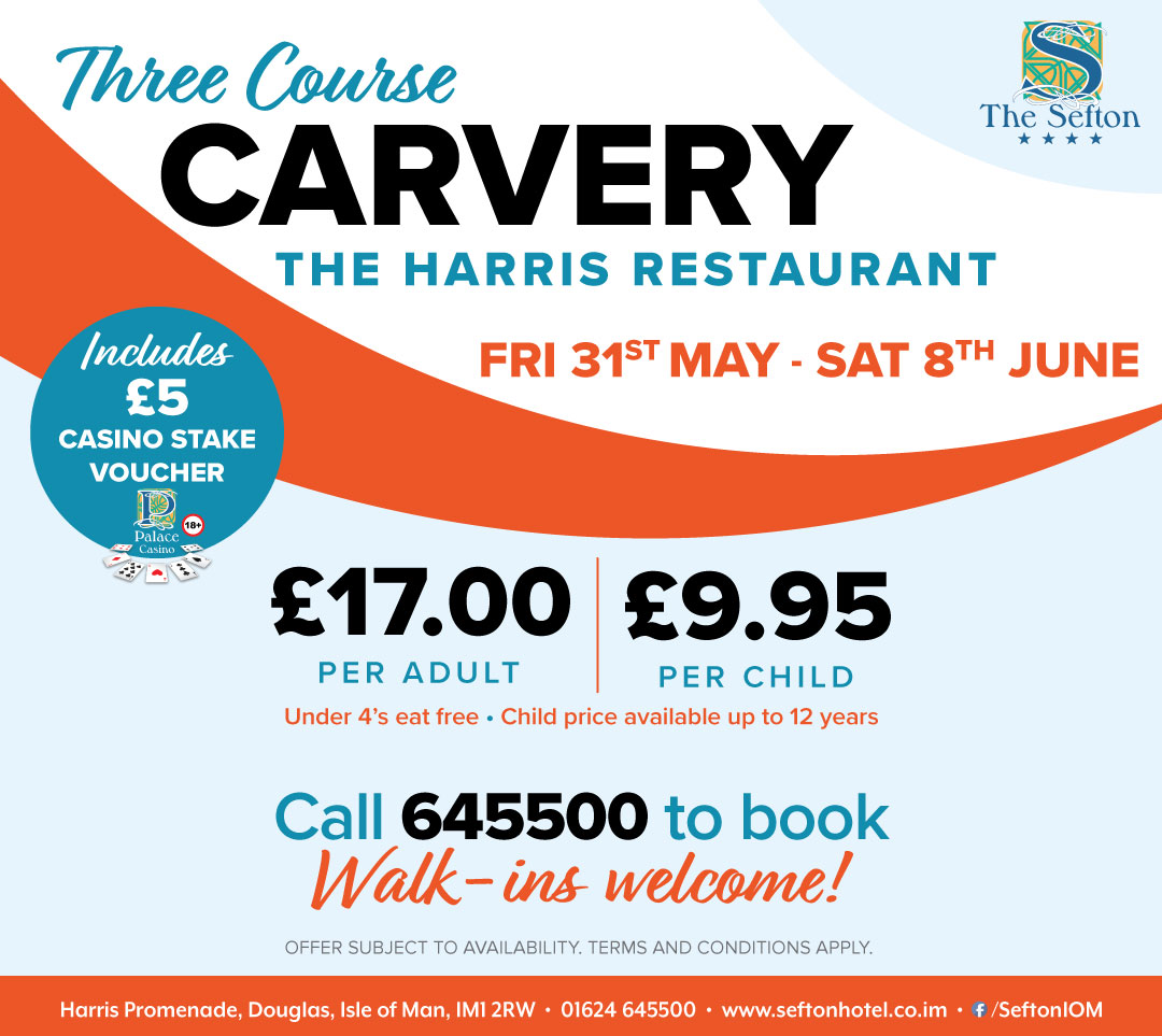 3 Course Carvery