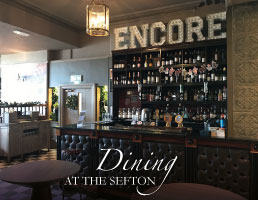 Dining at The Sefton